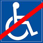 Inaccessibilité PMR